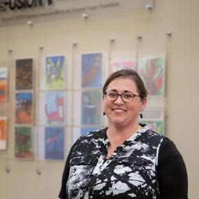 Alisa Petersen named Higher Education Art Educator of the Year
