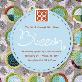Blossom: Textile & Canvas Art Show at BDAC