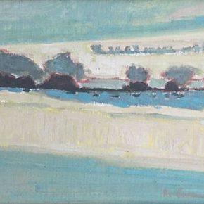 Karen Horne, Phyllis Horne and Ryan Cannon at Horne Fine Art