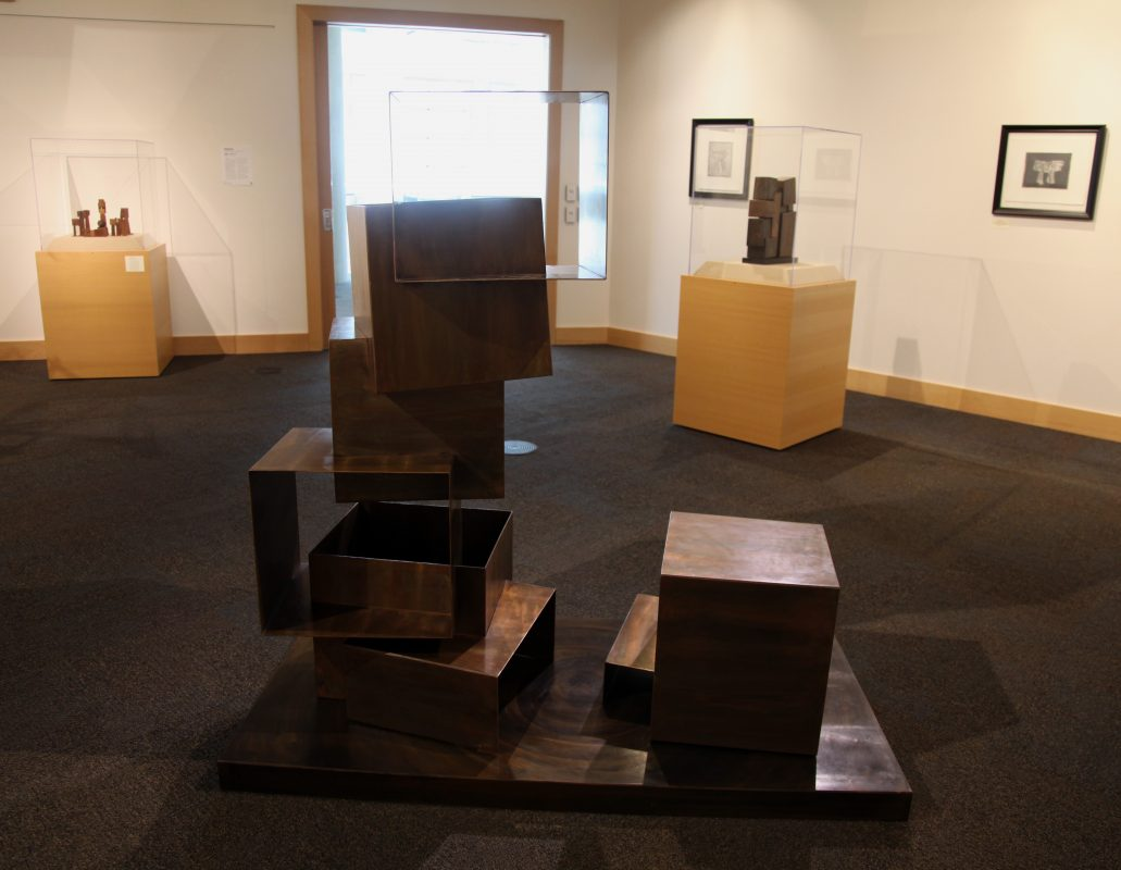 Installation view of Cordell Taylor's Process exhibition at The Gallery at the Main.